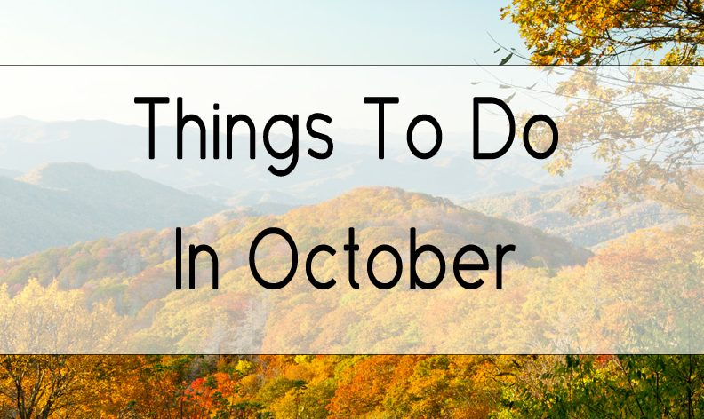 5 Things To Do in Gatlinburg in October
