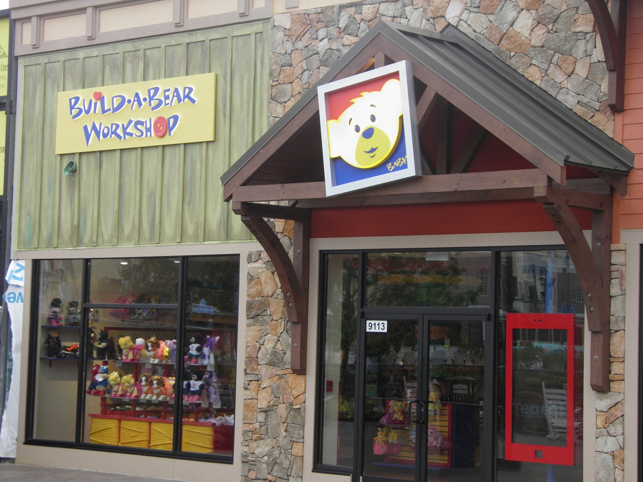 Is There A Build A Bear In Pigeon Forge