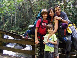 Family trip to Smoky Mountains