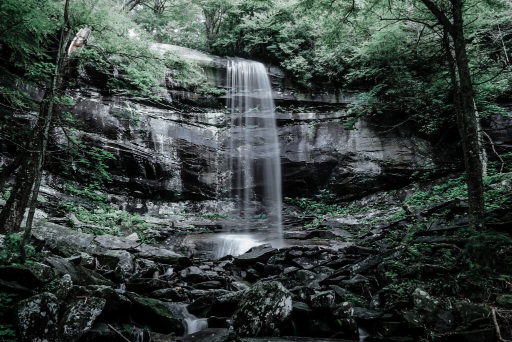 Rainbow Falls is a stunning waterfall you must see in Gatlinburg!